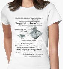 define weird Women's Fitted T-Shirt