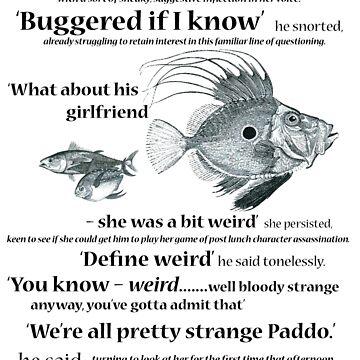 define weird by JuileeP
