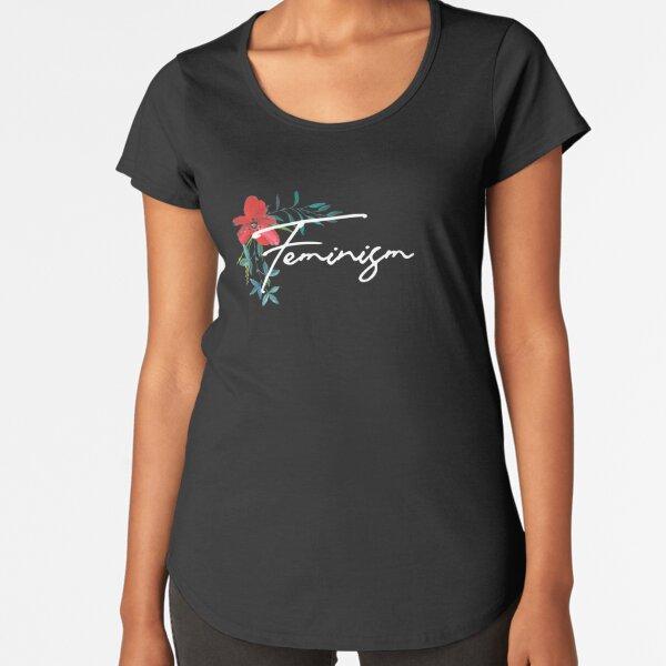feminism Premium Scoop T-Shirt