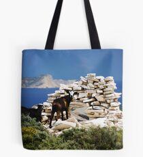 THE GOAT OF MOUTSOUNA, NAXOS, CYCLADES Tote Bag