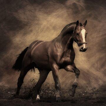 HORSE ON DISPLAY  by johnnyssandart