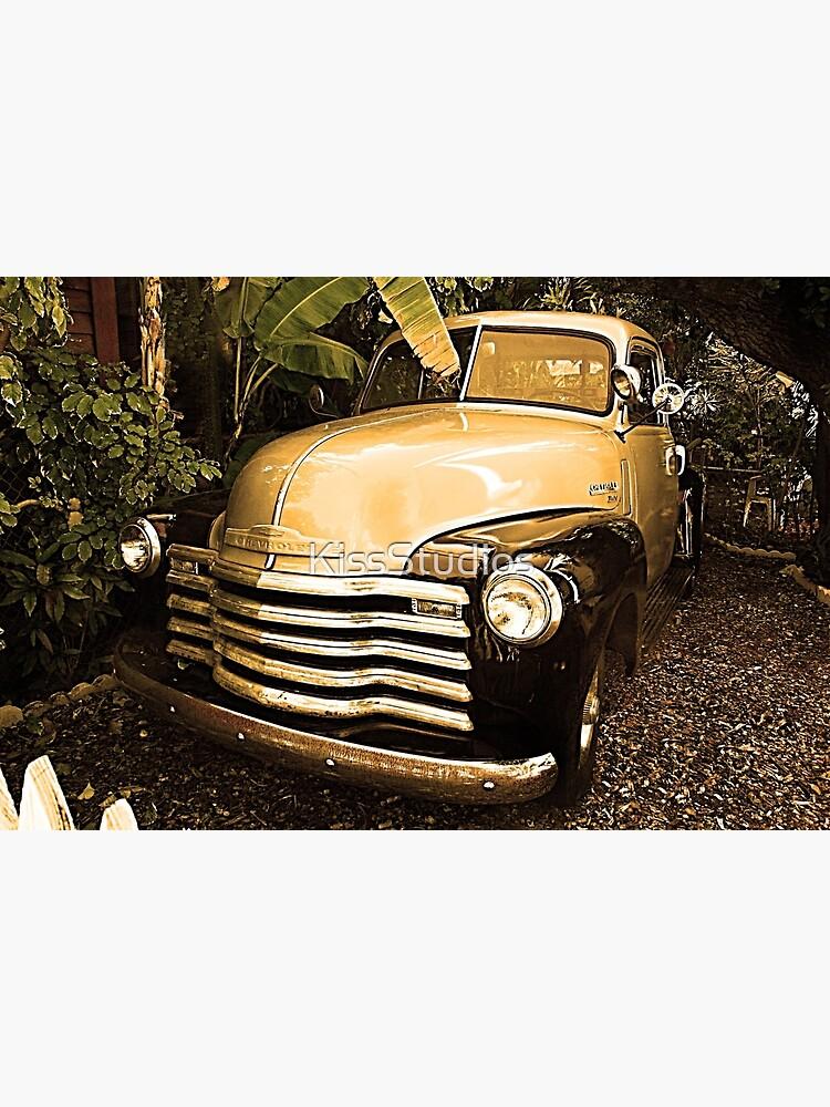 Vintage American Chevy Pickup Truck  by KissStudios