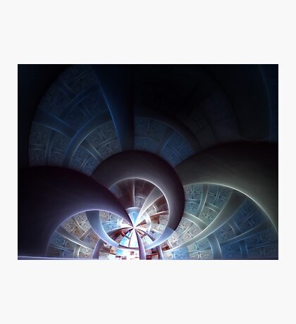 Industrial I - Abstract Fractal Artwork Photographic Print