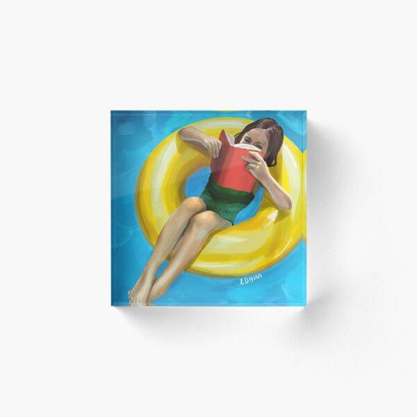 Summer Acrylic Block