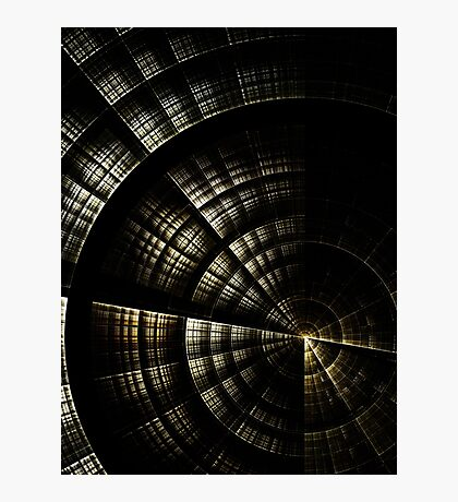 Into the Void  - Abstract Fractal Artwork Photographic Print