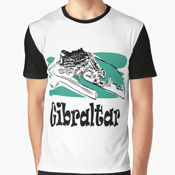 The Rock of Gibraltar Graphic T-Shirt