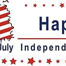 fröhlichen Unabhängigkeitstag von Stefanie Keller