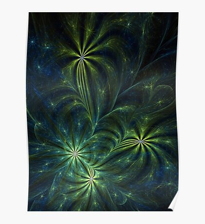 Weed - Abstract Fractal Artwork Poster