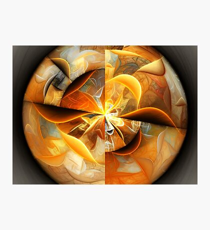 Smiles - Abstract Fractal Artwork Photographic Print