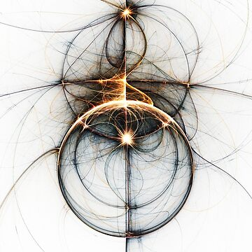 Shooting star - Abstract Fractal Artwork by EliVokounova