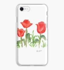 Washington Square Park Tulips  iPhone Case/Skin