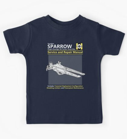 Sparrow Service and Repair Manual Kids Clothes