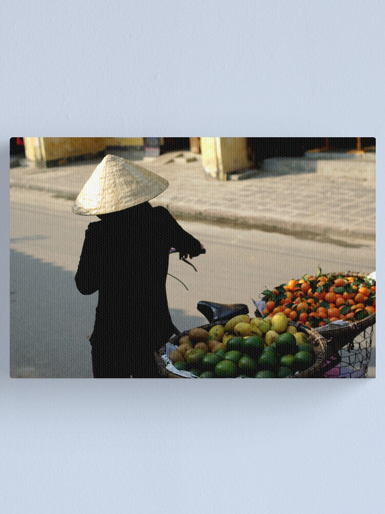 Alternate view of In the Streets of Hue Canvas Print