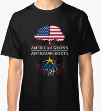 American Grown with Antiguan Roots   Antigua and Barbuda Design Classic T-Shirt
