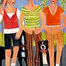 Walking While Talking by Linda  Sharpe