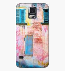 Rotting facade with two windows Case/Skin for Samsung Galaxy