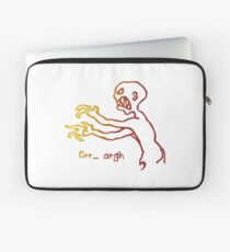 Grr Argh Monster Ombre Colours - Buffy the Vampire Slayer, Mutant Enemy, 90s, BTVS, Zombie, Joss Whedon, Buffyverse, Monster, Vampire, Grrr Arrgh Laptop Sleeve
