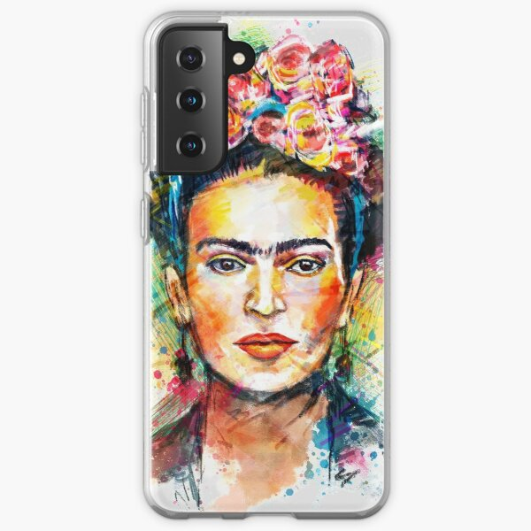 Frida Kahlo Samsung Galaxy Soft Case