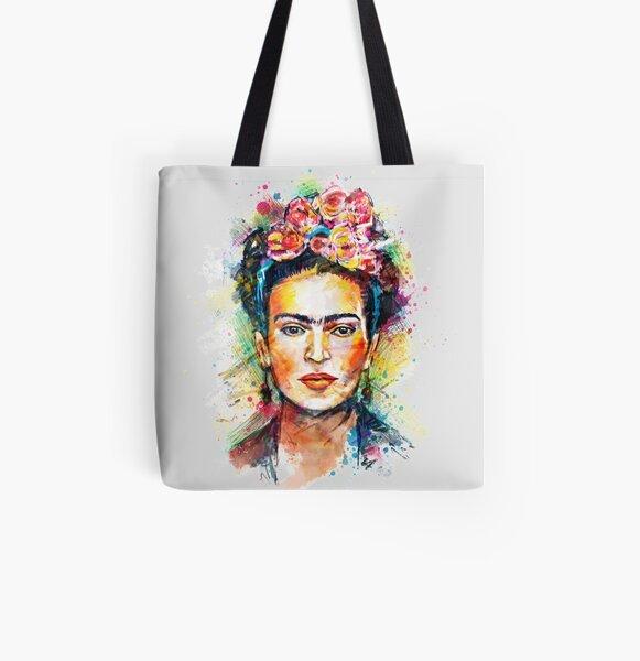 Frida Kahlo All Over Print Tote Bag