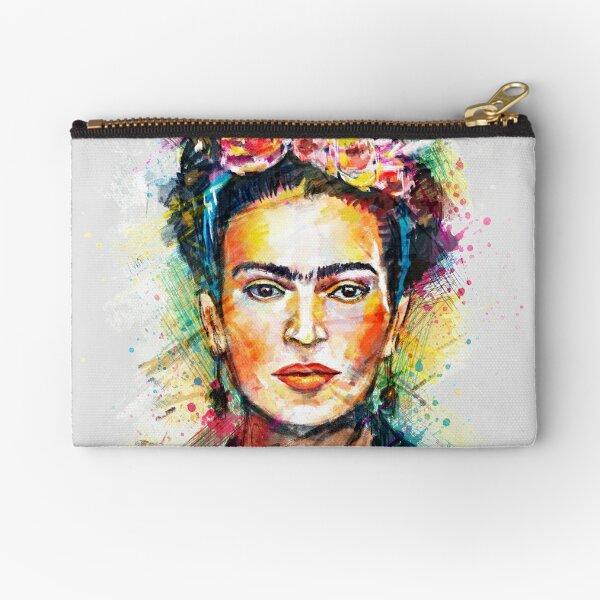 Frida Kahlo Zipper Pouch