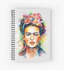 Frida Kahlo Spiral Notebook