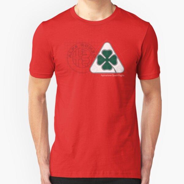 Alfa Romeo Quadrifoglio Ispirazione Slim Fit T-Shirt