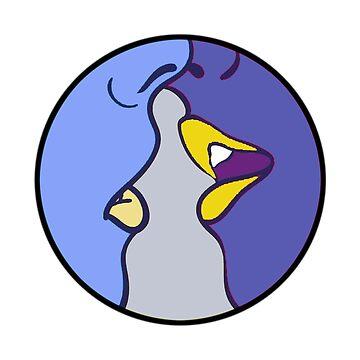 Blaue Küsse von ecfl