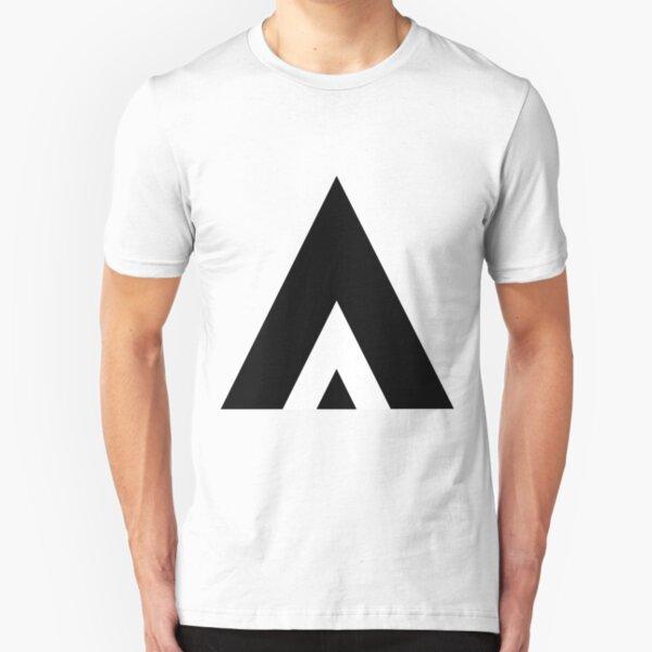 White Stripe Slim Fit T-Shirt