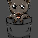 Cute Pocket Fruit Bat by TechraNova