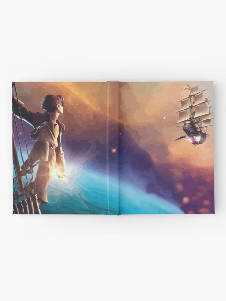 Alternate view of Treasure Planet Hardcover Journal
