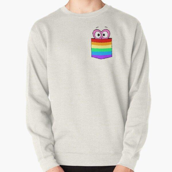 In a Heartbeat - LGBT Flag Pocket Pullover Sweatshirt