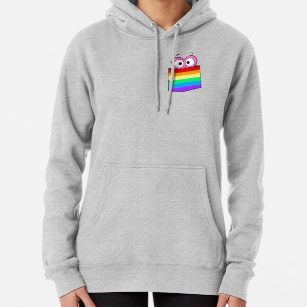 In a Heartbeat - LGBT Flag Pocket Pullover Hoodie
