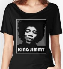 KING JIMMY Women's Relaxed Fit T-Shirt