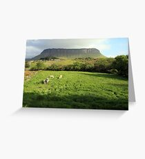 Benbulben mountain Greeting Card