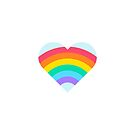 Pride Rainbow Heart by IdeasForArtists