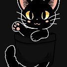 Pocket Cute Black Cat by TechraNova