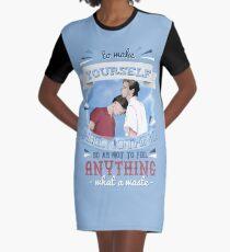 CBYN - Feel Nothing Graphic T-Shirt Dress