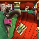 The Bookworm by Feretta