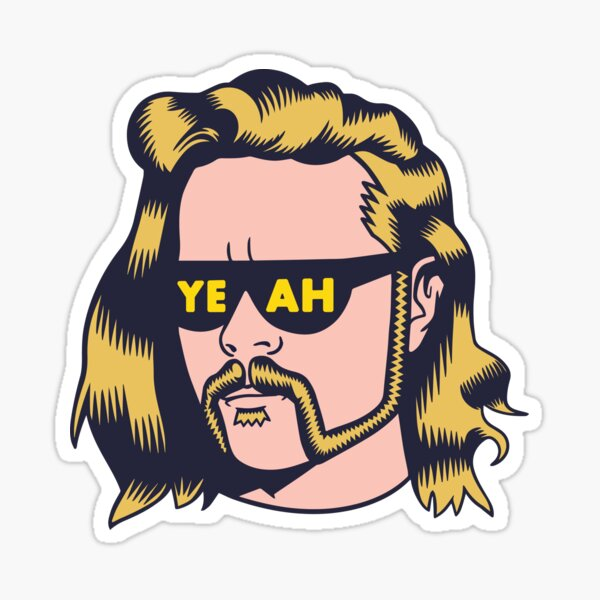 Yeahfield Sticker