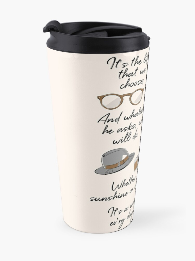 Alternate view of The Life of a Pioneer Travel Mug