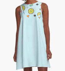 Lemons A-Line Dress