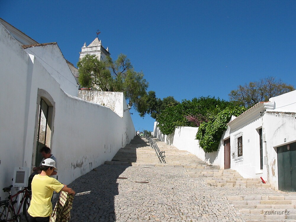 Tavira Stairs by zahnartz