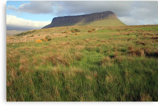 Benbulben mountain 5 by John Quinn