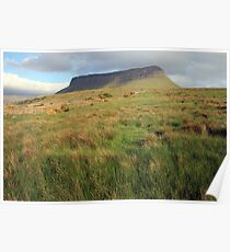 Benbulben mountain 5 Poster