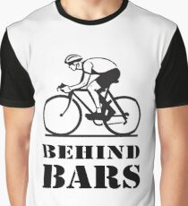BEHIND BARS- Cyclist Fanatic Graphic T-Shirt