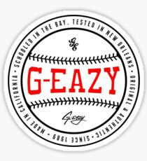 G EAZY Sticker