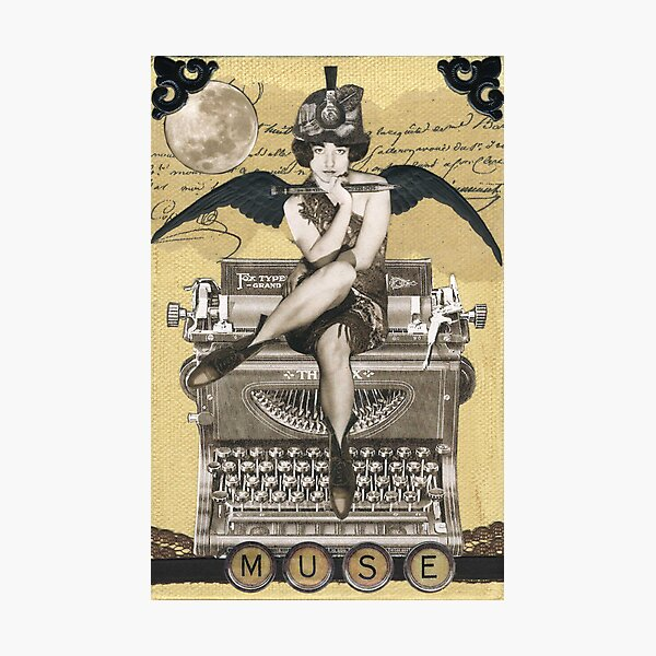 Calliope Cookie, Muse Photographic Print