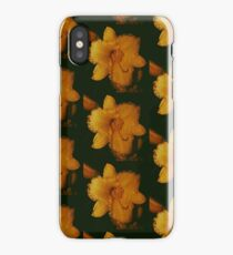 yellow daffodils after the rain  iPhone Case