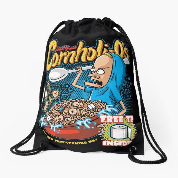 Cornholi-Os Drawstring Bag