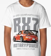Mazda RX7 Long T-Shirt